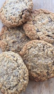 oatmeal chia cookie