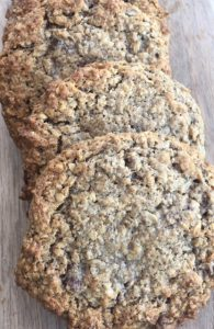 oatmeal choc chia cookie