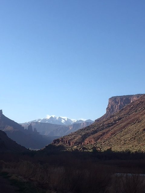 la sal mountains, moab