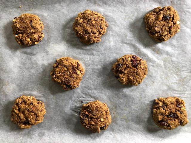 oatmeal pumpkin cookie