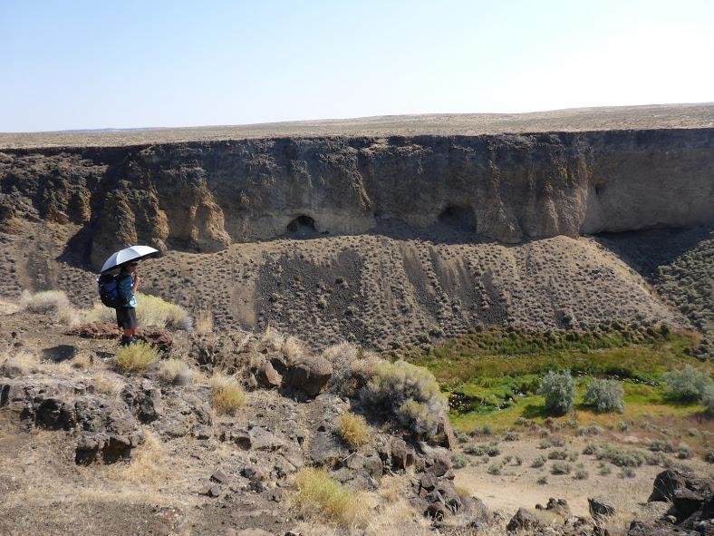 oregon desert trail jordan canyon