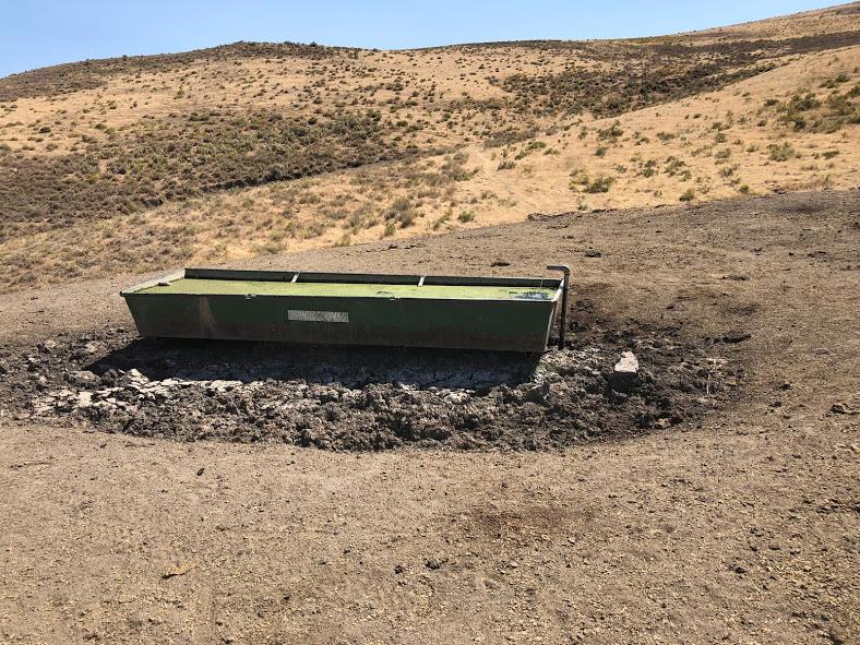 oregon desert trail water
