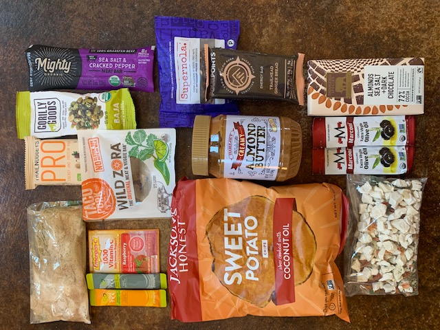 backpacking healthy lightweight food